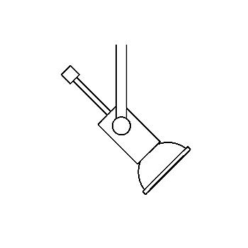 Drawing of 6310/.. - STEP 12V, opbouwspot M10 - zonder transfo