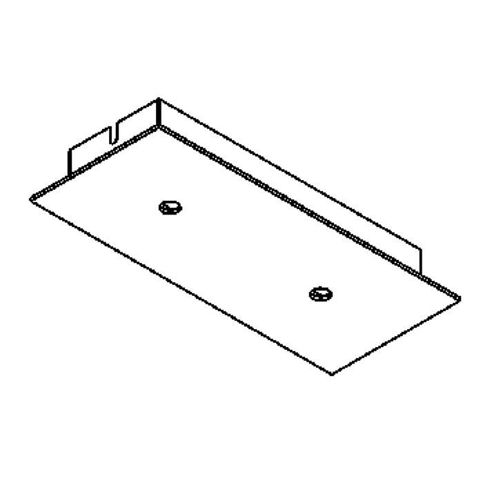 Drawing of 652/.. - TEXO, plafondverlichting - geen plaats voor transfo