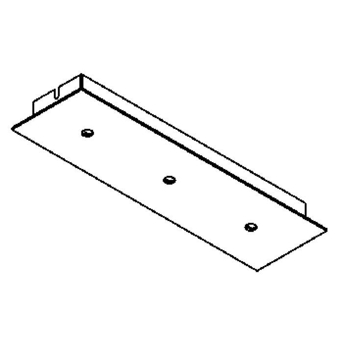 Drawing of 653/.. - TEXO, plafondverlichting - geen plaats voor transfo