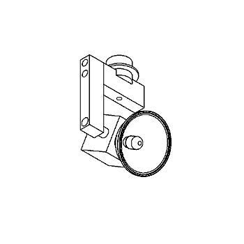 Drawing of 74.65/.. - CUBIC 12V, opbouwspot M10 - richtbaar - zonder transfo