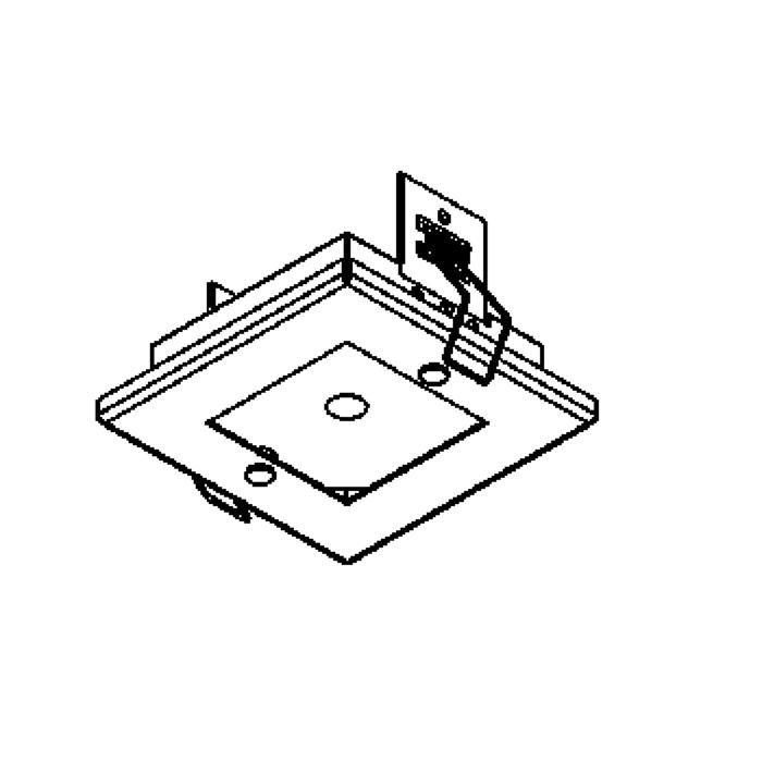 Drawing of 860ZT/.. - ZOOM, plafondverlichting - spot afzonderlijk te bestellen