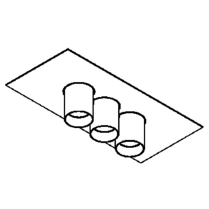 Drawing of 913/.. - TITUS 230V, plafondverlichting