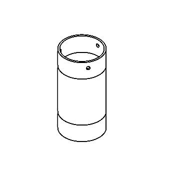 Drawing of R1029/.. - GUILIA A spare glass, vervangglas
