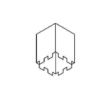 Drawing of S11/.. - BOX, inbouwdoos - te combineren met S9.70 - S9.92 en S6.--