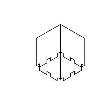 Drawing of S14/.. - BOX, inbouwdoos - te combineren met S9.70 - S9.92 - S9.108