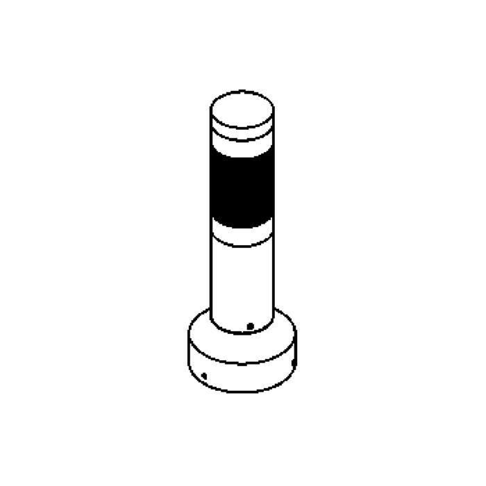 Drawing of T1016CR/.. - IRIS, tuinpaal