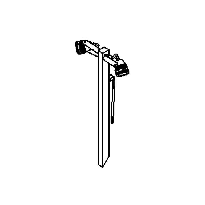 Drawing of T1037/.. - UFO, tuinpaal met grondpin - met glas - met transfo