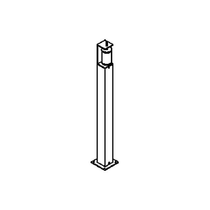 Drawing of T301.75/.. - OLYMPIA, tuinpaal - met glas