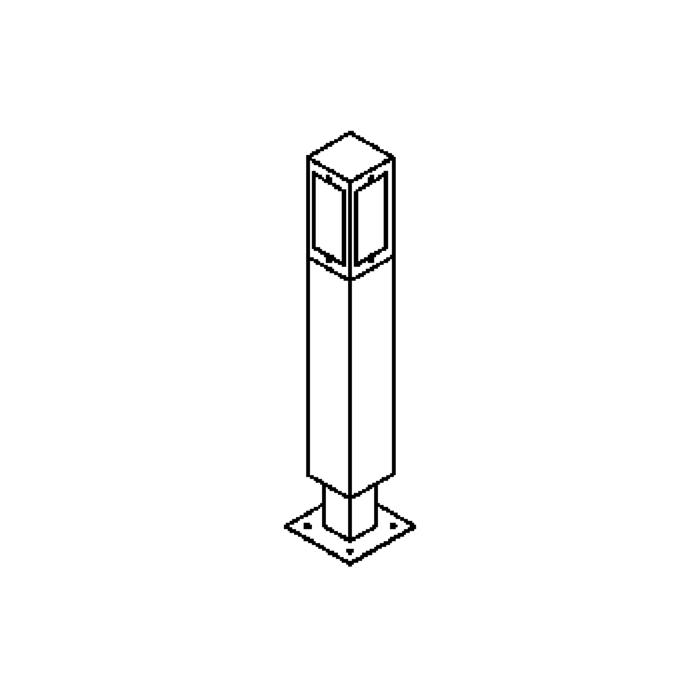 Drawing of T483.600/.. - ELBA, tuinpaal