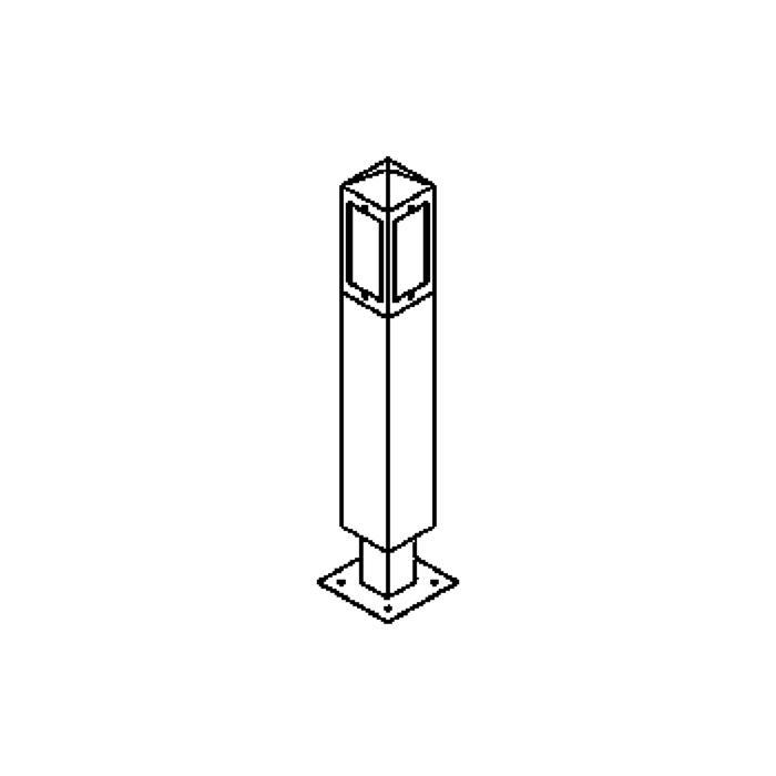 Drawing of T489.600/.. - PALMA, tuinpaal
