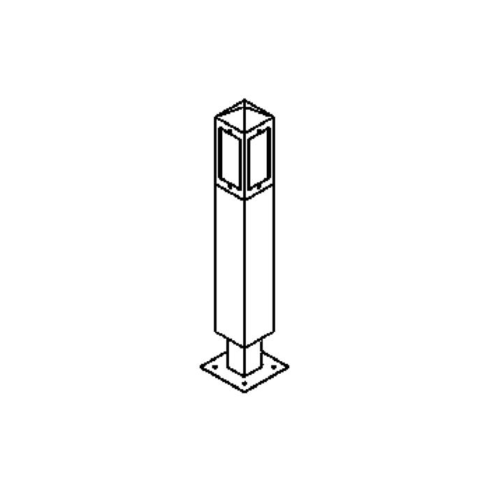 Drawing of T489.800/.. - PALMA, tuinpaal
