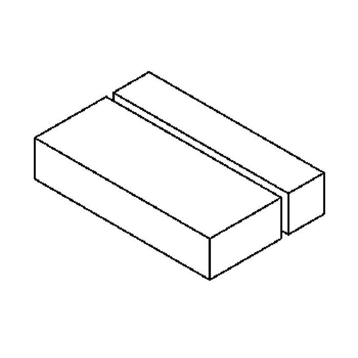 Drawing of W1077/.. - OTTO OUTDOOR, opbouw wandlicht - down - met electronische ballast