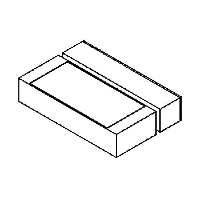 Drawing of W1078.2/.. - OTTO OUTDOOR, opbouw wandlicht - vast - up - met electronische ballast
