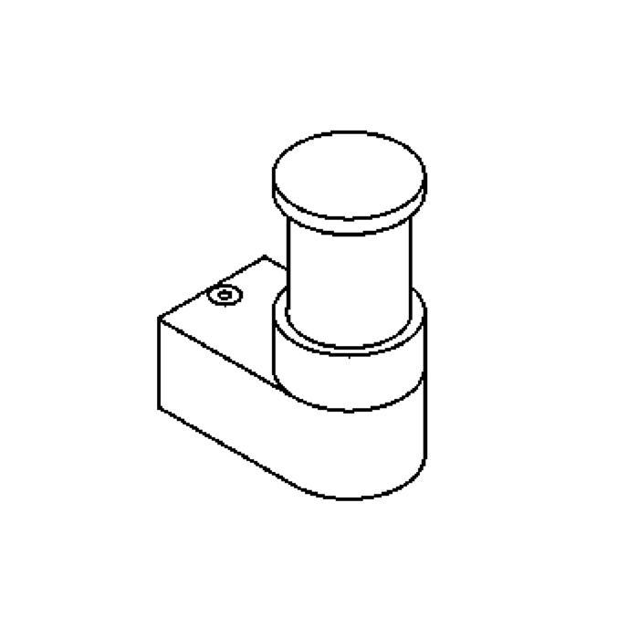 Drawing of W1090.UP/.. - BOLERO, opbouw wandlicht - up