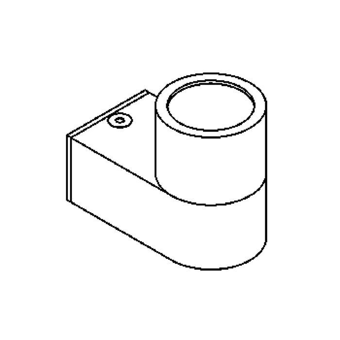Drawing of W1098.UP/.. - BOLERO, opbouw wandlicht - up
