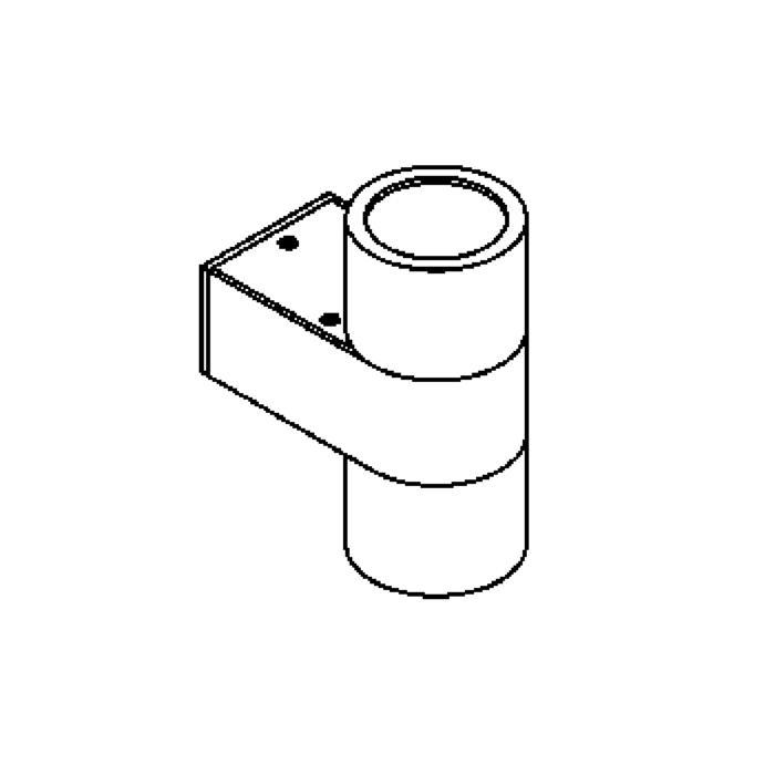 Drawing of W1200/.. - BOLERO, opbouw wandlicht - down/up