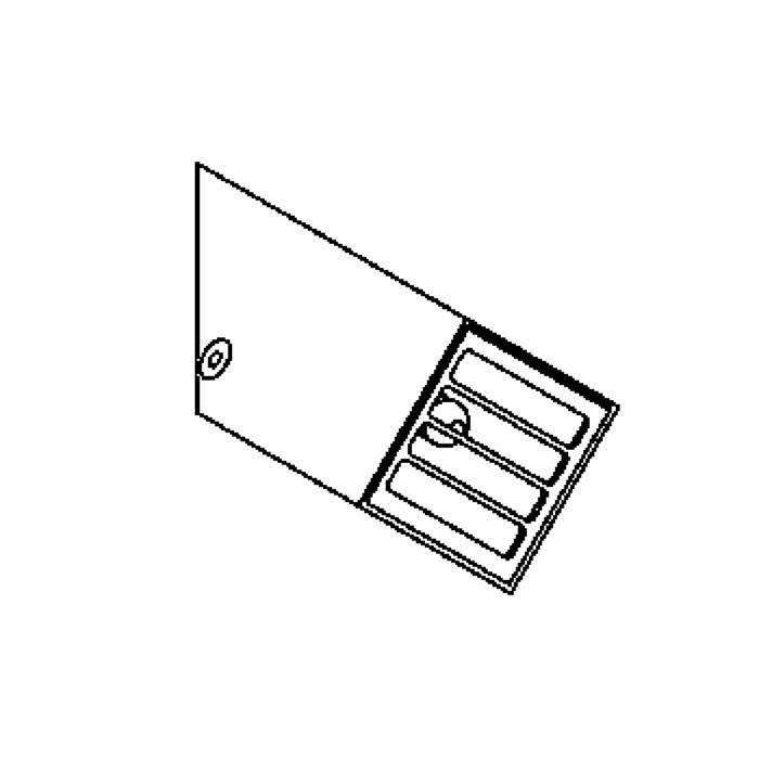 Drawing of W1203.ES50/.. - SPIKKIO, opbouw wandlicht