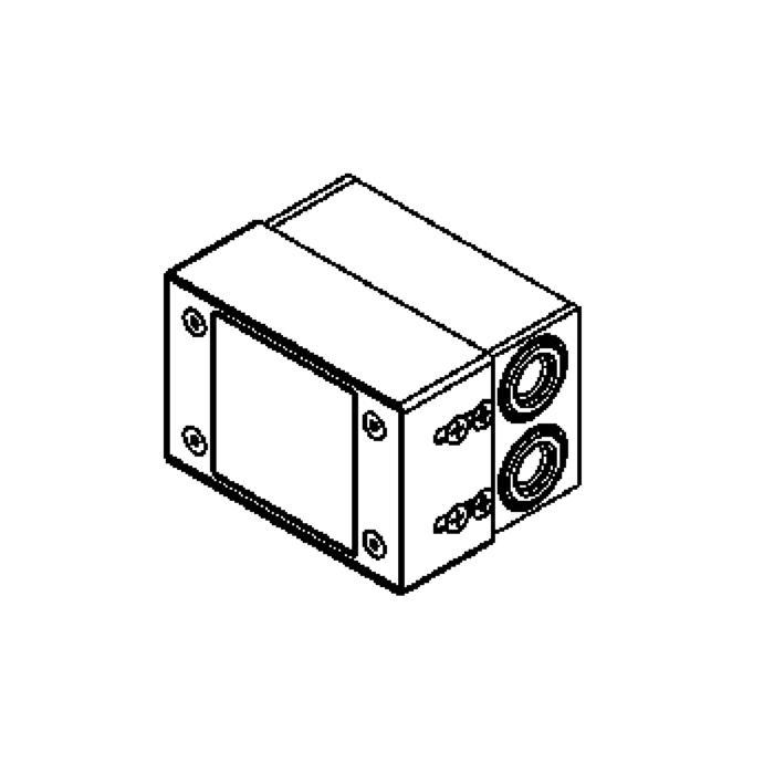 Drawing of W1210/.. - STONE, inbouw wandlicht - geen inbouwdoos nodig