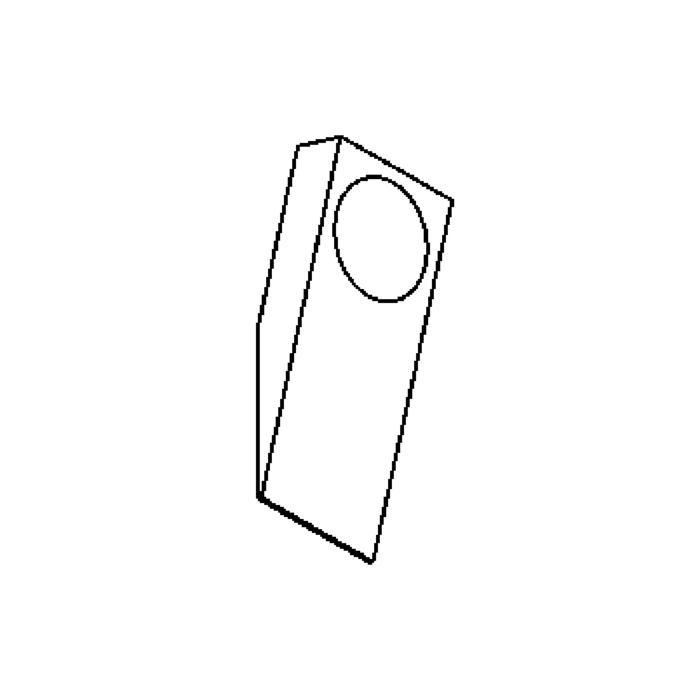 Drawing of W304.R/.. - TOLEDO, opbouw wandlicht