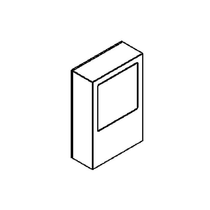 Drawing of W306.S/.. - TOLEDO, opbouw wandlicht