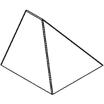 Drawing of W501/.. - LEDA, opbouw wandlicht - vast - down - zonder transfo