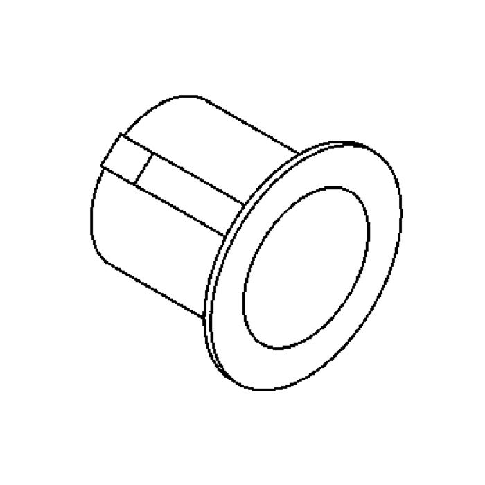 Drawing of ZIALED/.. - Ø48, inbouw plafond- en wandlicht - rond - zonder LED driver