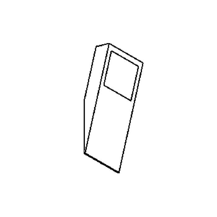 Drawing of W304.S/.. - TOLEDO, opbouw wandlicht