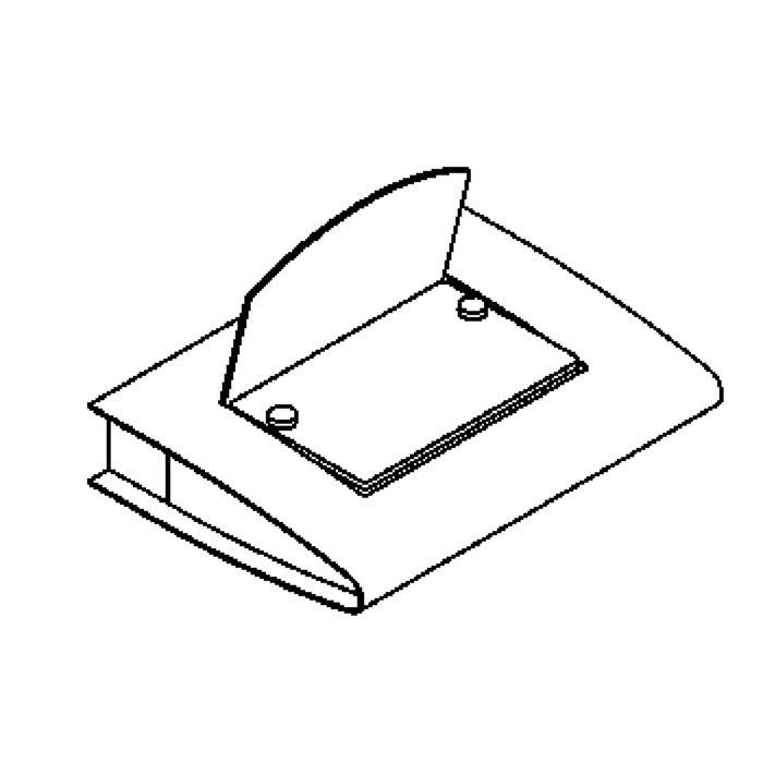 Drawing of 3002B/.. - LUCIFER, opbouw wandlicht