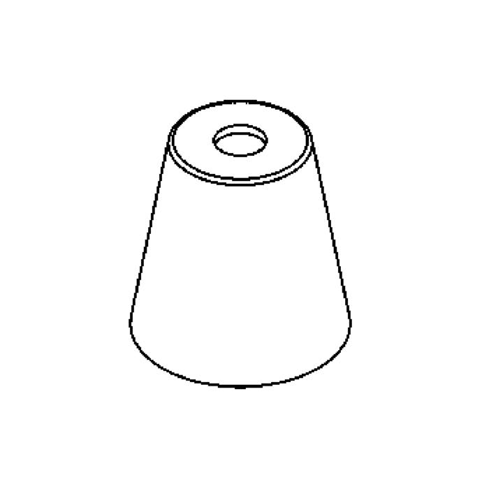Drawing of GL8284M/.. - GLASS G4-G9, glas - Madre Perla