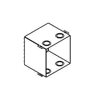 Drawing of 1347B/.. - OSCAR, inbouwdoos - voor S2 bladveren