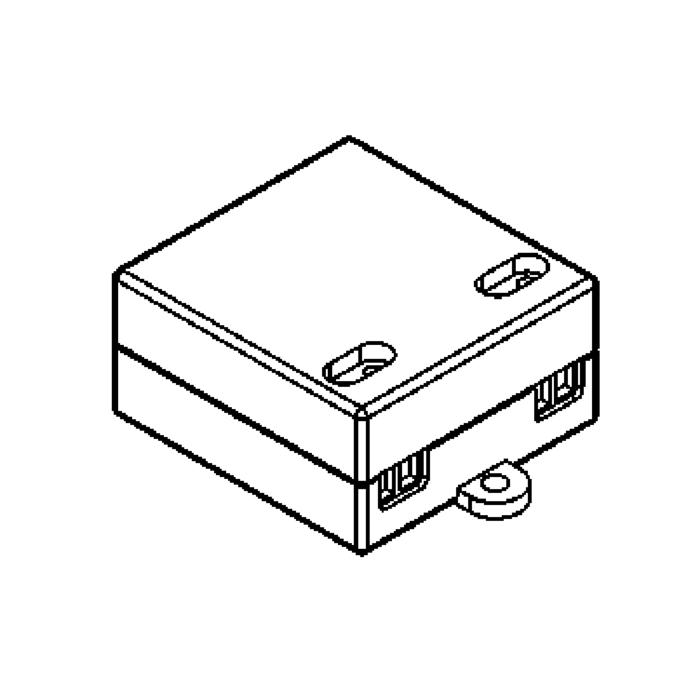 Drawing of VLMPTDCC3.350MA/.. - DRIVER constant current, driver - 3W 350mA - voor 3 LEDs x 1W - in serie