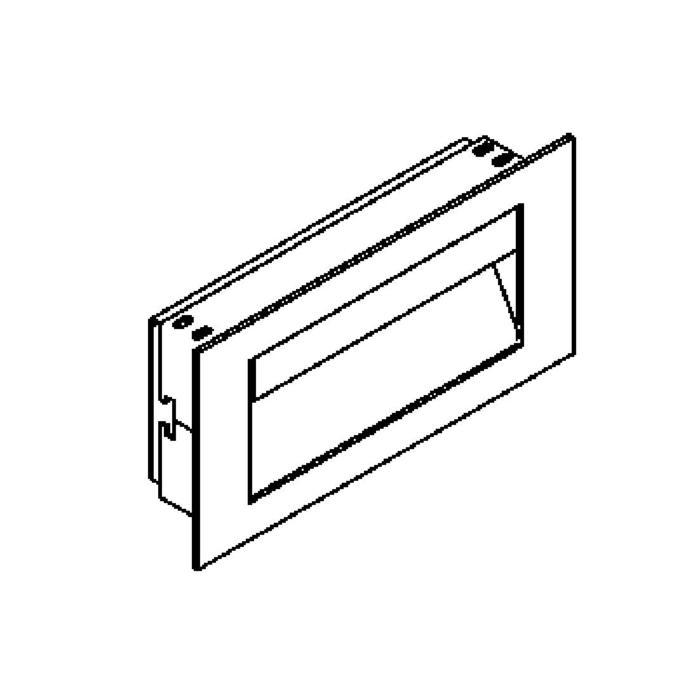 Drawing of 1246.LED/.. - TRIPLE MOON, applique encastrable - sans driver LED