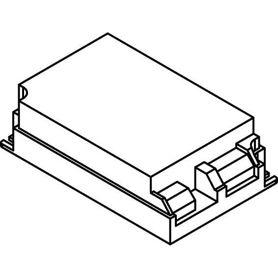 Drawing of OT35.700MA/.. - DRIVER OT35/200-240/700, driver - 35W 700mA - voor 10 LEDs x 3W - in serie