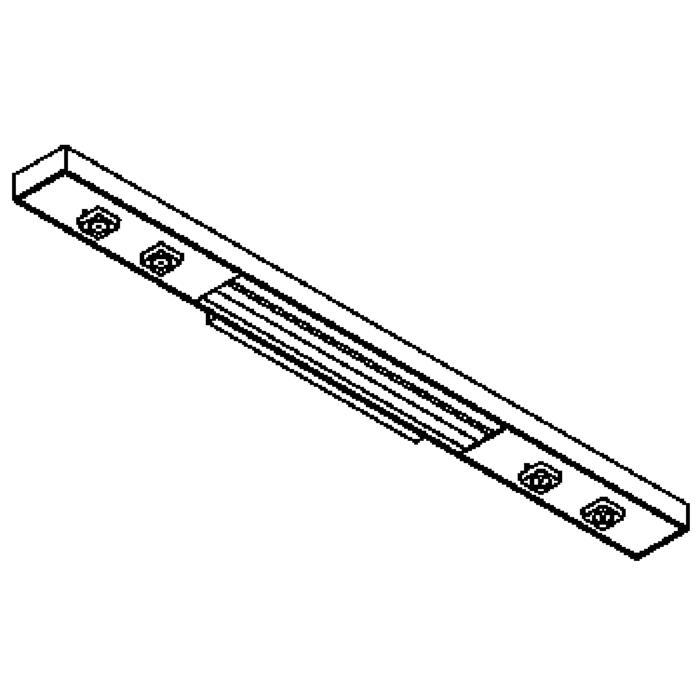 Drawing of 2721/.. - NEPTUNUS WALL, opbouw wandlicht - 2 circuits - met electronische ballast - met LED driver