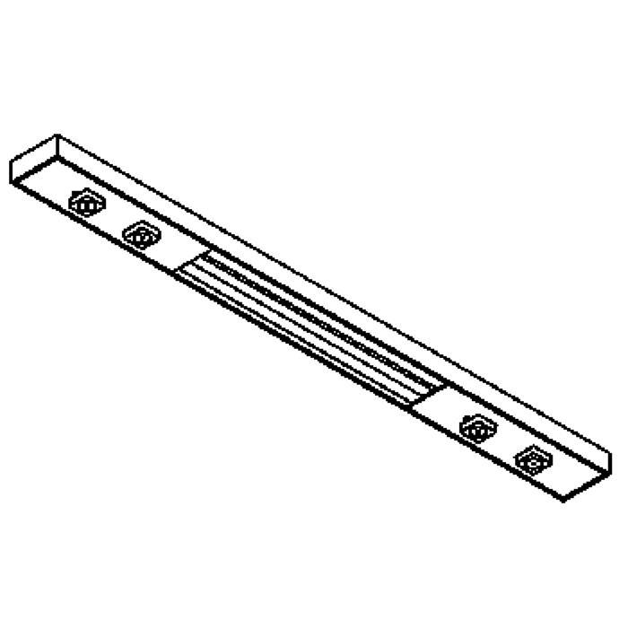 Drawing of 2724/.. - NEPTUNUS PLAFOND, plafondverlichting - 2 circuits - met electronische ballast - met LED driver