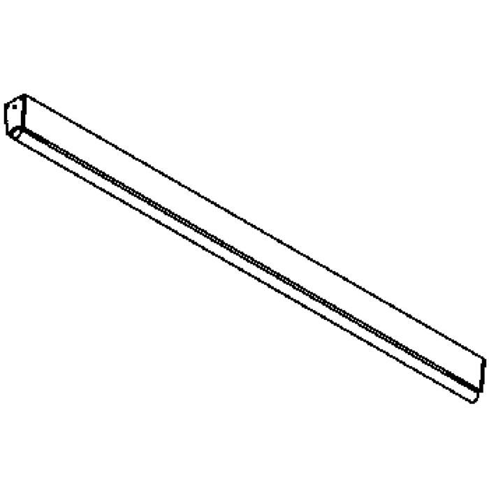 Drawing of 646.900/.. - STRIPE, plafonnier ou applique apparent - avec ballast électronique