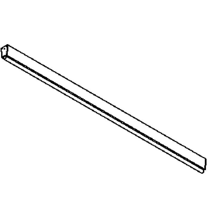Drawing of 646.1200/.. - STRIPE, opbouw plafond -of wandlicht - met electronische ballast
