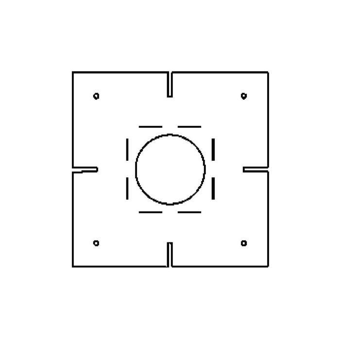 Drawing of S6x/.. - PLASTERKIT, plaasterkit