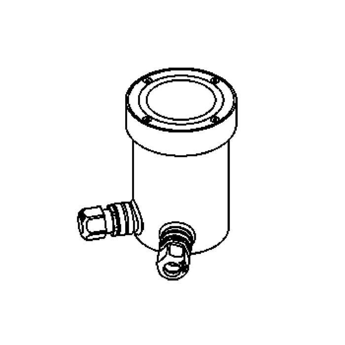 Drawing of 2310.D.5/.. - LAVA, grondspot met inwerkkader gelijk met de bevloering - richtbaar - zonder transfo