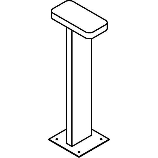 Drawing of T534/.. - AVILA, tuinpaal