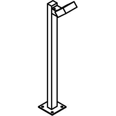 Drawing of T665/.. - ZAMORA, tuinpaal - richtbaar