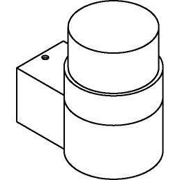 Drawing of W720/.. - RADON, opbouw wandlicht - up