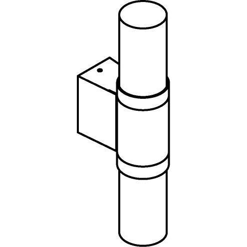 Drawing of W724/.. - RADON, opbouw wandlicht - down/up
