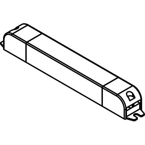 Drawing of TR122442/.. - TRANSFO, transfo - DC SLIM/U - 13W 24VDC