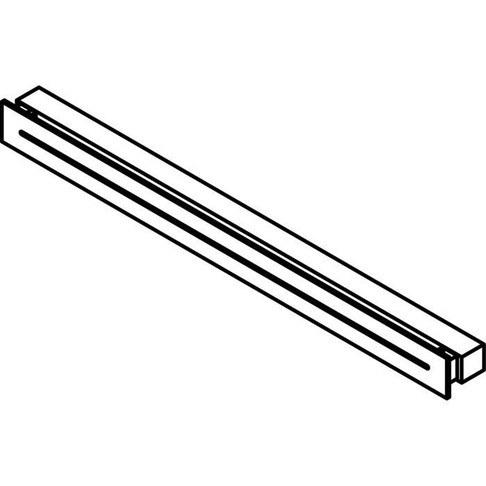 Drawing of 1773.900/.. - INDY, opbouw wandlicht - vast - down/up - frontplaat met gleuf - met electronische ballast