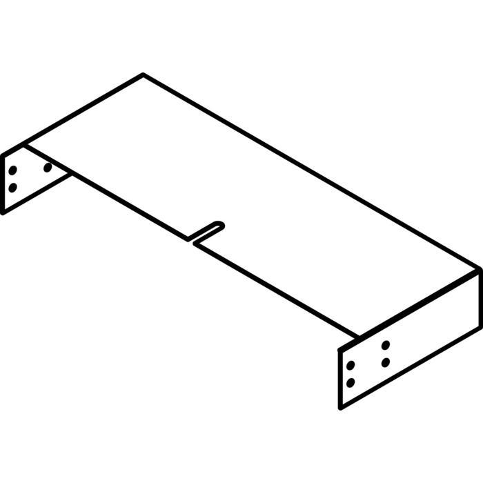 Drawing of KG12/.. - OPTIE VOOR KABELGOOT, supplement - aanpassingsstuk voor hoogteregeling