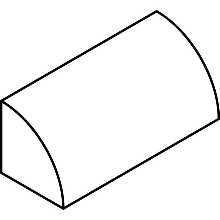 Drawing of W1278/.. - ROMANIE, opbouw wandlicht - down