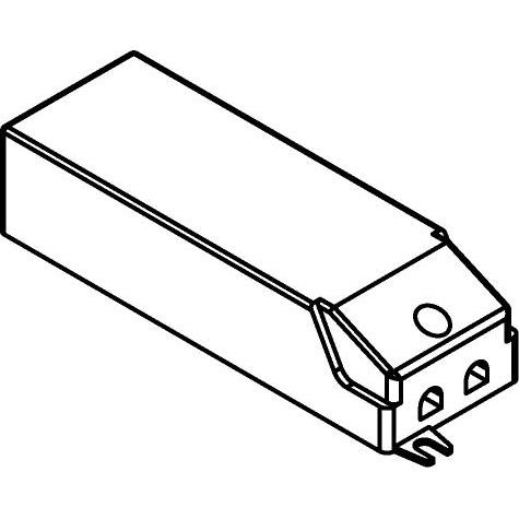 Drawing of TR122236/.. - DRIVER, driver - DC 22W-WU - 22W 1050mA